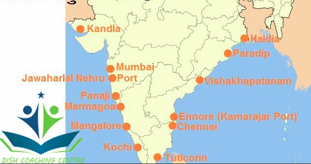 भारत के  बन्दरगाह