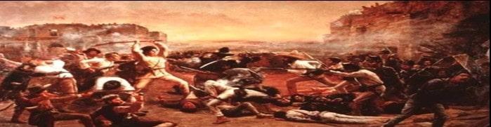 ब्रिटिश साम्राज्य के विरुद्ध प्रमुख विद्रोह | Major rebellion against the British Empire