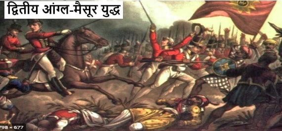 द्वितीय आंग्ल-मैसूर युद्ध के कारण क्या थे | 2nd Anglo-Mysore War