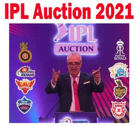 IPL Auction 2021 List