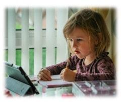 ऑनलाइन पढ़ाई